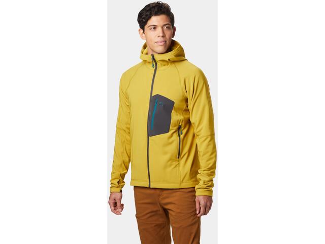 Mountain Hardwear Keele Kapuzenjacke Herren dark citron